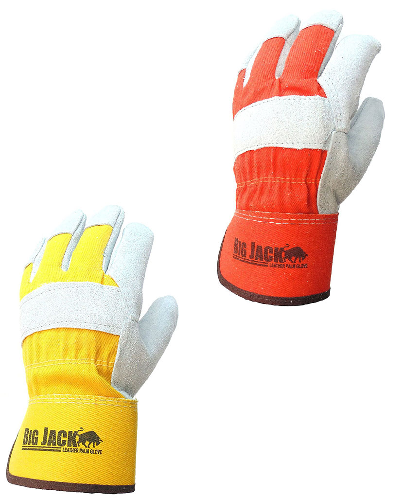 better grip u00ae bgby22o  y cowhide leather palm gloves with