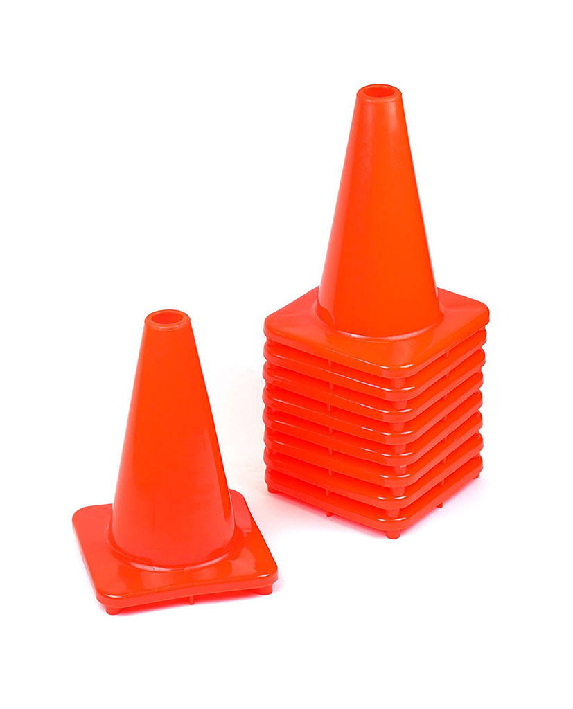 12 Traffic Sport Training Cones Rk Industries Group Inc Cone Home Safety