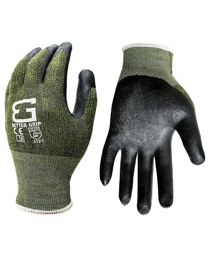 Better Grip 174 Bamboo Gardening Work Gloves Rk Industries